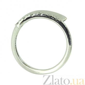 Кольцо из белого золота с бриллиантами Альянс ZMX--RD-6400w_K