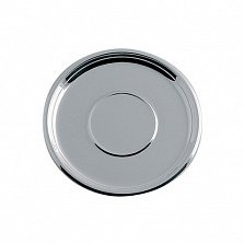 Блюдце из серебра Marta, диаметр 94мм