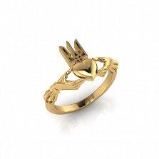 Золотое кладдахское кольцо Украинский патриот
