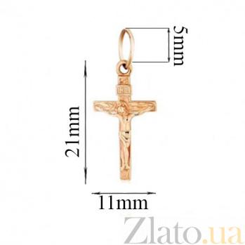 Золотой крестик Канон EDM--КР0141