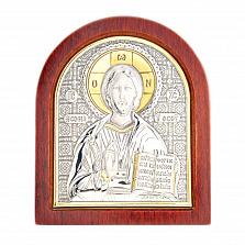 Икона серебро и позолота Иисус Христос