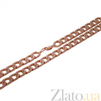 Золотая цепочка панцирного плетения Мужество ONX--ц00122