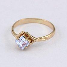 Золотое кольцо с топазом Галата