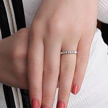 Золотое обручальное кольцо с бриллиантами Жизненный путь