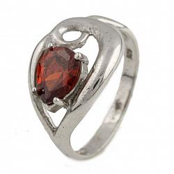 Серебряное кольцо Персея с фианитом
