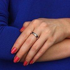 Серебряное кольцо Панайота с бриллиантами