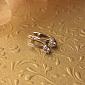 Серьги из белого золота Дамиани с кристаллами Swarovski EDM--С4095/1SW
