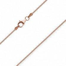 Серебряная цепь Челлини с позолотой