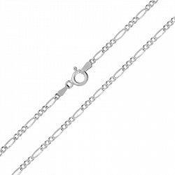 Серебряная цепь с родированием, 2 мм 000026171