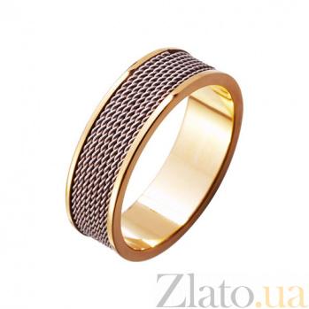 Золотое обручальное кольцо Нить любви TRF--4211041