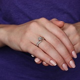Золотое кольцо Гранта с бриллиантами