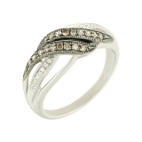 Золотое кольцо с бриллиантами Кассандра