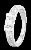 Серебряное кольцо с фианитом Голди
