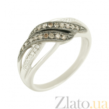 Золотое кольцо с бриллиантами Кассандра 1К562-0344