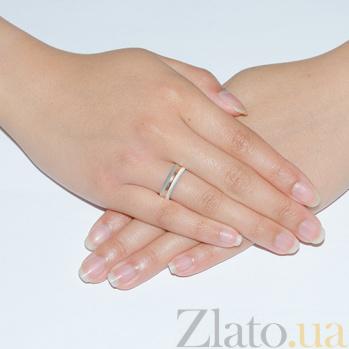 Золотое обручальное кольцо Линия счастливой жизни TRF--4411398