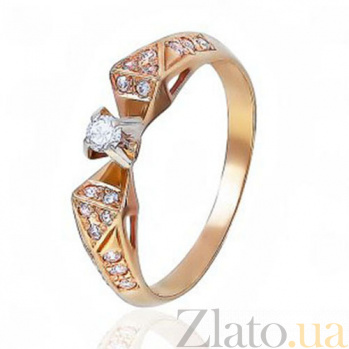 Золотое кольцо Сияние роз EDM--КД0377