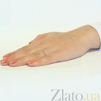 Кольцо из белого золота Тиара SVA--1001380102/Без вставки