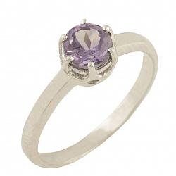 Серебряное кольцо Манон с александритом