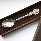 Серебряная чайная ложка Гороскоп Лев