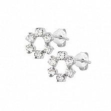 Серебряные сережки Эвин