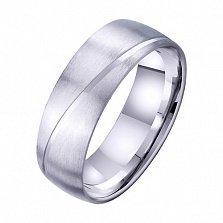 Золотое обручальное кольцо Сияние вечности