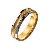 Золотое обручальное кольцо Фееричное чувство