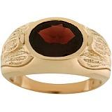 Золотое кольцо Магдала с гранатом