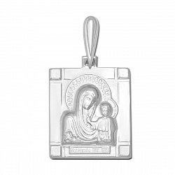 Серебряная ладанка Казанская Божия Матерь 000136171