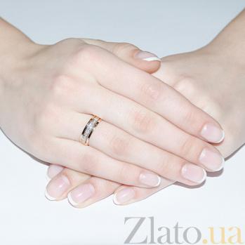 Кольцо обручальное Преданность с бриллиантами 000016028