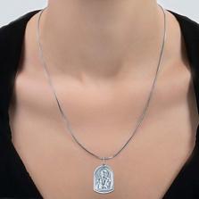 Серебряная ладанка Хранитель