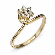 Золотое кольцо с бриллиантами Симона
