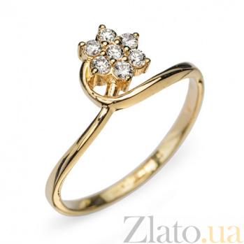 Золотое кольцо с бриллиантами Симона R 0301