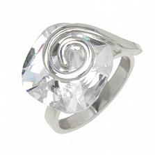 Серебряное кольцо с цирконием Антистресс