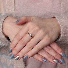 Золотое кольцо Alice с бриллиантами