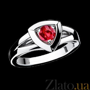 Рубиновое кольцо в белом золоте Dream & Love R-BDL-W-rub