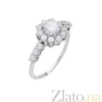 Кольцо серебряное с камнями AQA--71529б