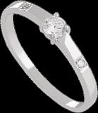 Золотое кольцо Патрисия с сапфиром
