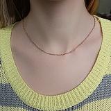 Серебряная цепочка позолоченная Имидж