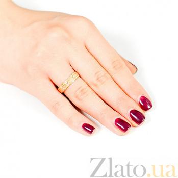Обручальное кольцо из красного золота Эскорт 000001657