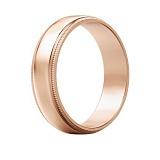 Мужское обручальное кольцо Чистое намерение