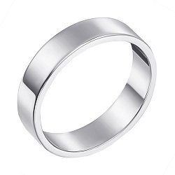 Обручальное кольцо из белого золота 000000370