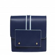 Клатч Italian Bags 1721_blue Кожаный Синий