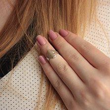 Кольцо на фалангу «Перстень средний кованый»