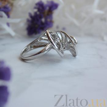 Серебряное кольцо с фианитами Танец страсти 10000166