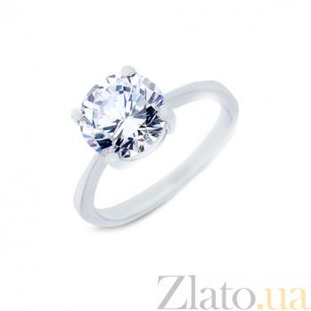 Серебряное кольцо с цирконом Высокое чувство AQA--JR-2214