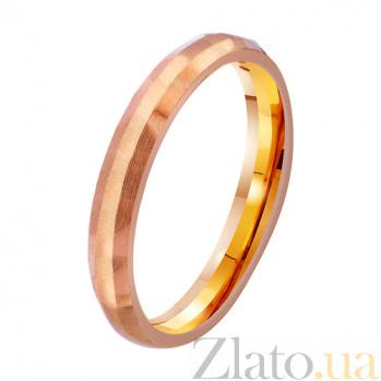 Золотое обручальное кольцо Мгновения нежности TRF--4111120