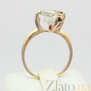 Золотое кольцо с зеленым аметистом Клэр VLN--112-1300-5