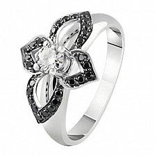 Кольцо из белого золота с бриллиантами Томила