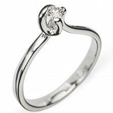 Золотое кольцо с бриллиантом Haya