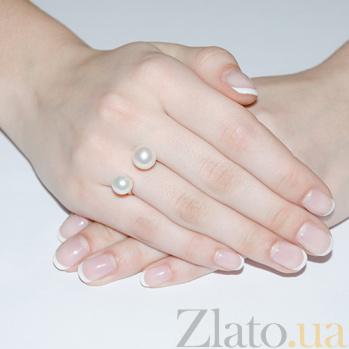 Золотое кольцо с жемчугом Куат SG--11336901